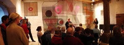 Vernissage der Ausstellung Elsi Giauque 2006