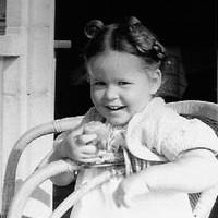 Portrait von Annelise Zwez als Kind