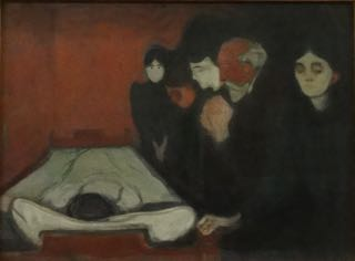 Edvard Munch 1863-1944 At the Deathbed 1895 Kode
