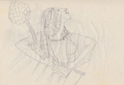 Georgette Klein Zeichnung