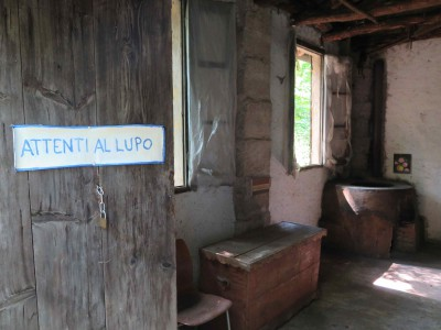 Grotto Fondazione Sciaredo Blick ins Innere