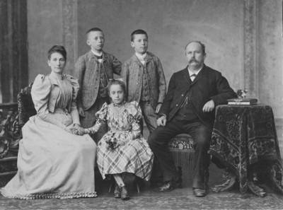 Irlet Familie 1892
